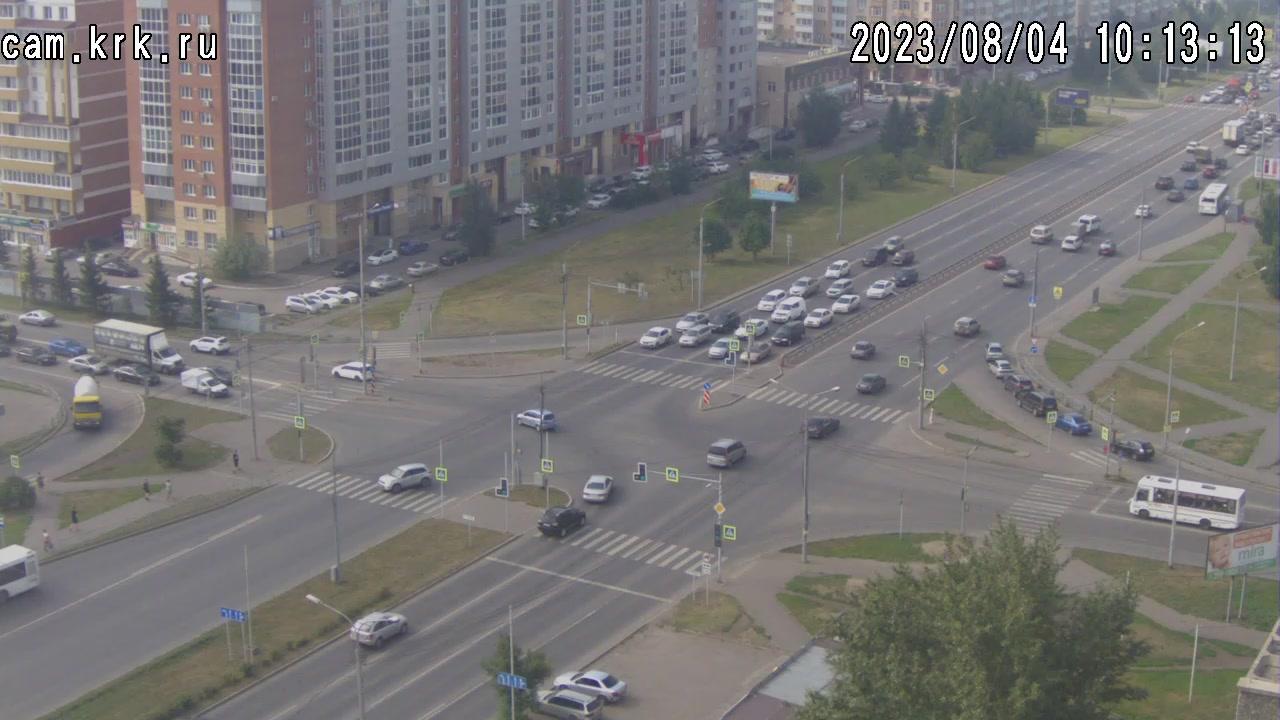 Веб камера Красноярск Улица Водопьянова