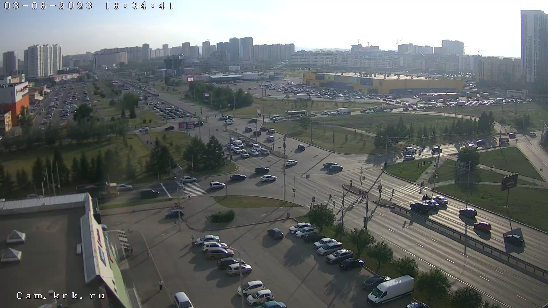 Веб камера Красноярск Улица Авиаторов